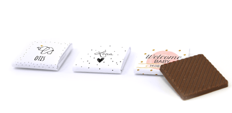 mini-chocolaatjes-geboortebedankjes