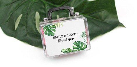 Huwelijksbedankje Mini Suitcase