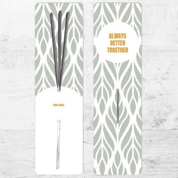 Sparklers zakelijk bedankje - Floral Frame