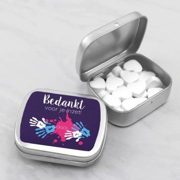 Sweet Tin zakelijk attentie - Verf thema