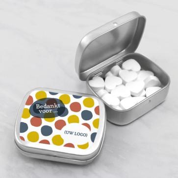 Sweet Tin zakelijk bedankje - Dots