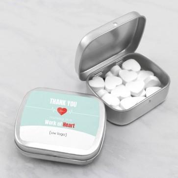 Sweet Tin zakelijk bedankje - Heartbeat