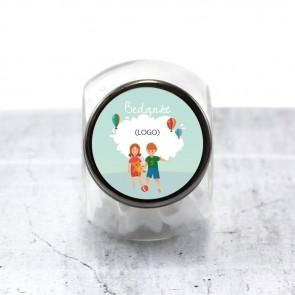 Candy Jar zakelijk bedankje Kinderen