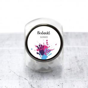 Candy Jar zakelijk bedankje Ver