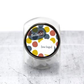 Candy Jar zakelijk bedankje - Dots