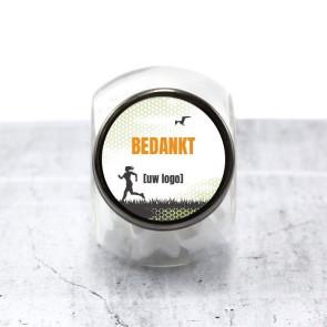 Candy Jar zakelijk bedankje - Athletiq