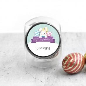 Candy Jar zakelijk bedankje - Easter Bunny