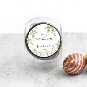 Candy Jar zakelijk bedankje - Golden Easter