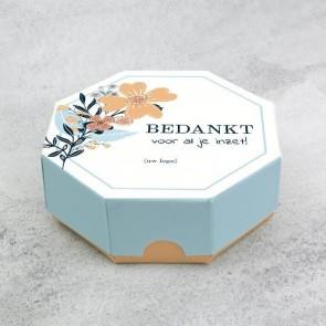 Celebrations doosje zakelijk bedankje - Bouquet