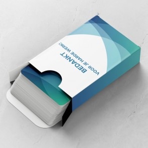 Gepersonaliseerde Speelkaarten - Aqua