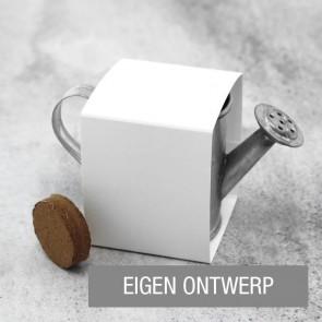 Zakelijk bedankje Groen Gietertje Eigen Ontwerp