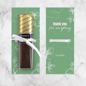 Merci chocolaatjes zakelijk bedankje - Organic