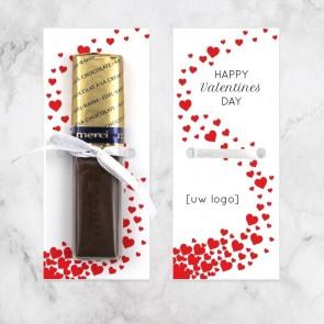 Merci Chocolaatjes zakelijk bedankje - Valentine Love