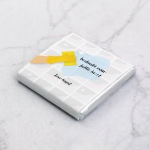 Mini Chocolaatjes zakelijk bedankje - Fresh Tiles