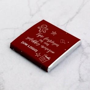 Mini Chocolade Zakelijk Bedankje - Doodle Thema