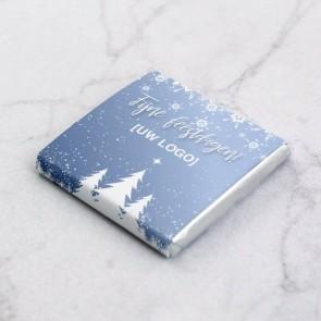 Mini Chocolade Zakelijk Bedankje - Sneeuw thema