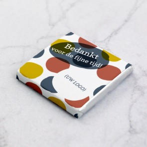 Mini Chocolade zakelijk bedankje - Dots