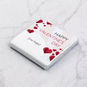 Mini Chocolade zakelijk bedankje - Folded Love