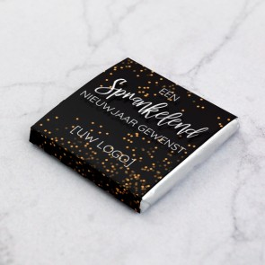 Mini Chocolade Zakelijk Bedankje - Sterretjes