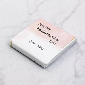 Mini Chocolade zakelijk bedankje - Pink Valentine