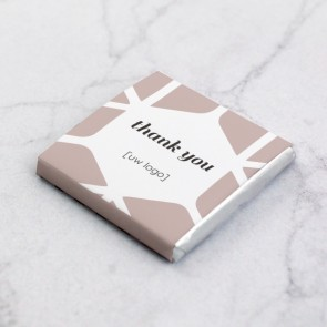 Mini Chocolaatjes zakelijk bedankje - The Space Between