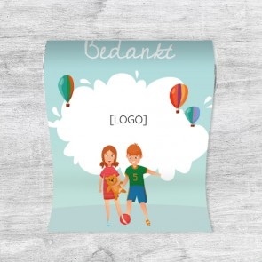 Mini King Pepermuntrolletjes met Logo Kinderen