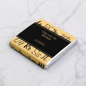 Mini Chocolade Zakelijke Attentie - Alfabet