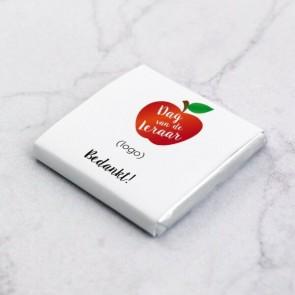 Mini Chocolade Relatiegeschenk - Appel Thema
