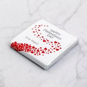 Mini Chocolade zakelijk bedankje - Valentine Love