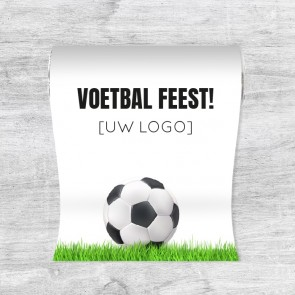 Mini Pepermuntrolletjes zakelijk bedankje - Voetbal
