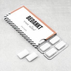 PromoGum zakelijk bedankje - Oblique