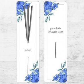 Sparklers zakelijk bedankje - Blue Flowers