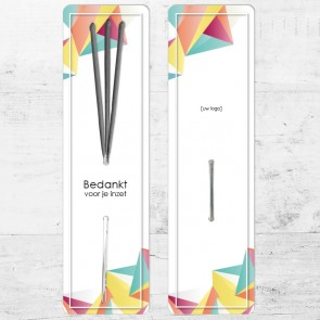 Sparklers zakelijk bedankje - Geometric
