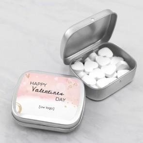 Sweet Tin zakelijk bedankje - Pink Valentine