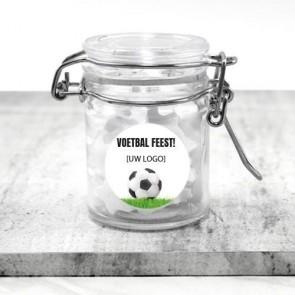 Weckpotje zakelijk bedankje - Voetbal