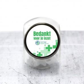 Candy Jar zakelijk bedankje - Care