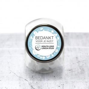 Candy Jar zakelijk bedankje - Health
