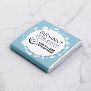 Mini Chocolade zakelijk bedankje - Health
