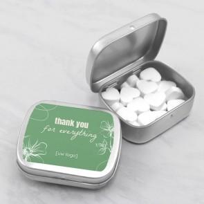 Sweet Tin zakelijk bedankje - Organic
