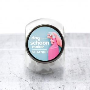Candy Jar zakelijk bedankje - Brandschoon