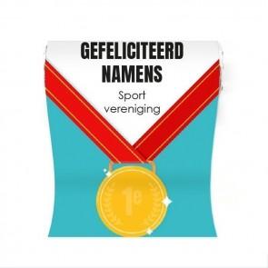 Mini Pepermuntrolletjes zakelijk bedankje - Medal