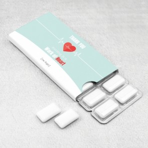 PromoGum zakelijk bedankje - Heartbeat