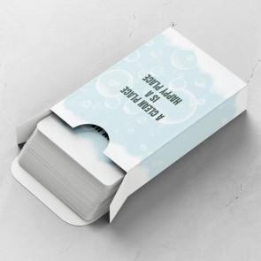 Transparent Gepersonaliseerde Speelkaarten