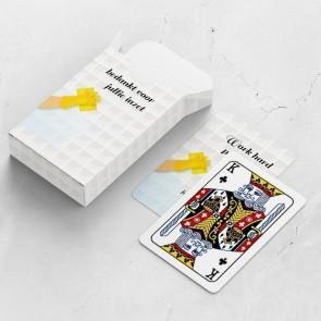 gepersonaliseerde speelkaarten zakelijk fresh tiles kaarten en doosje