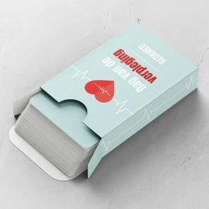 Heartbeat Gepersonaliseerde Speelkaarten