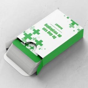 Care Gepersonaliseerde Speelkaarten