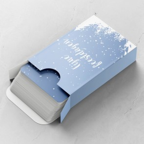 Sneeuw Gepersonaliseerde Speelkaarten