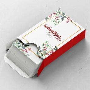 Holiday Branch Gepersonaliseerde Speelkaarten