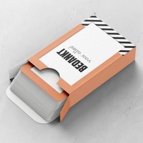 Oblique Gepersonaliseerde Speelkaarten