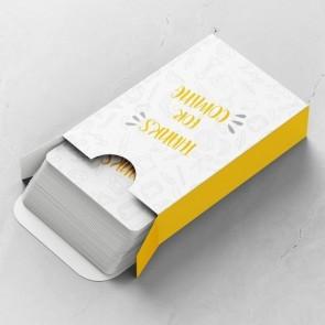 Scribble Gepersonaliseerde Speelkaarten